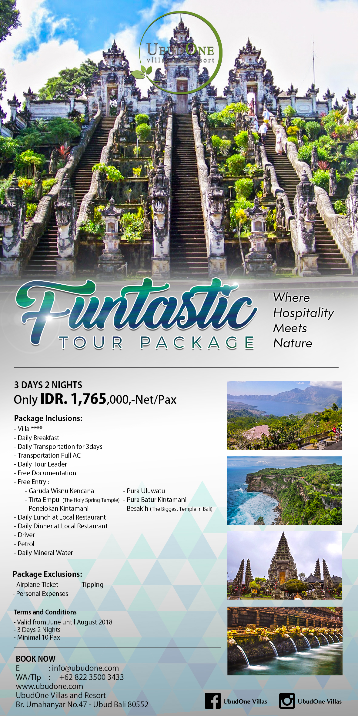FANTASTIC TOUR PACKAGE